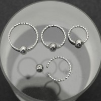 Кольцо 0,8 мм спиральное. BCR20W