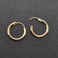 Серьга-кольцо. HPM0701